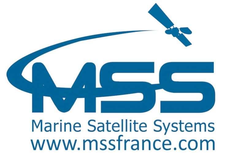 Blue Marine Satellite Systems logo on a white background