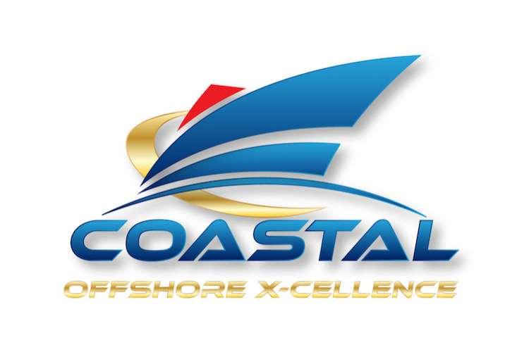 Coastal Offshore x-cellence logo on a white background