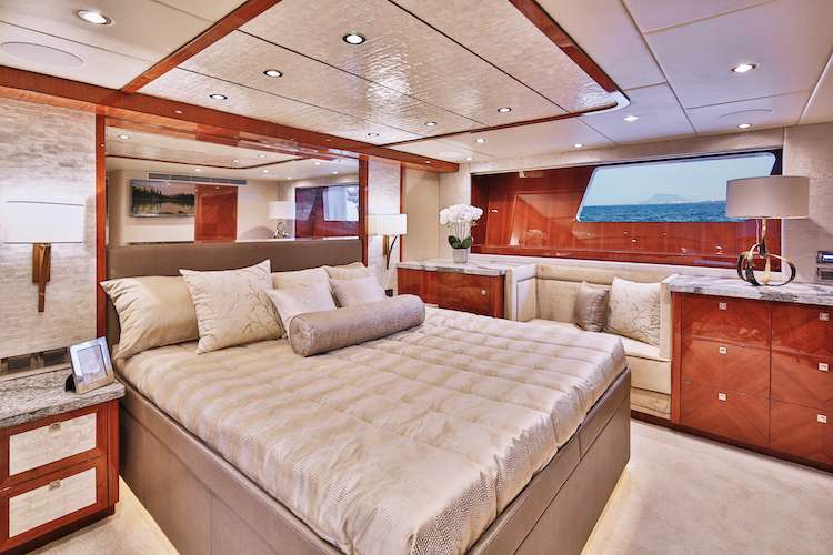 Master bed room designed by by Karen Lynn Interior Design
