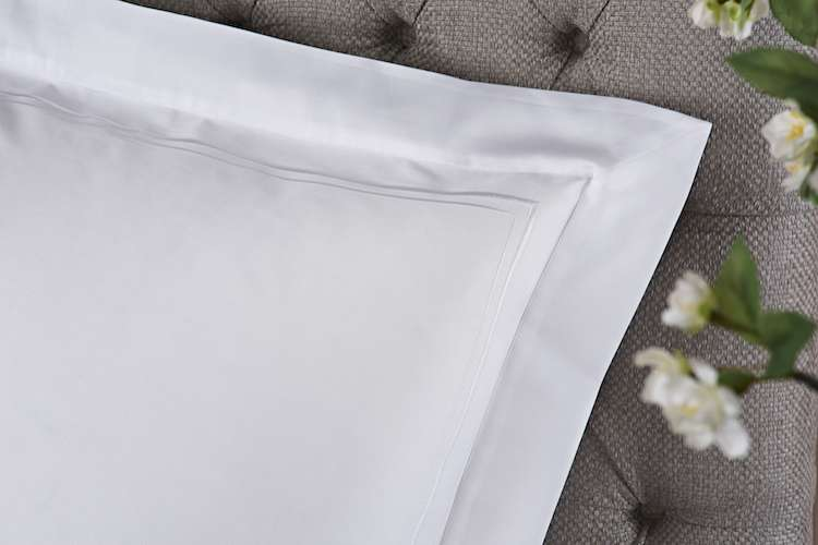 Fine white Heirlooms pillow covers