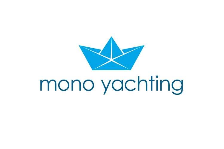 Mono Yachting logo on a white background.