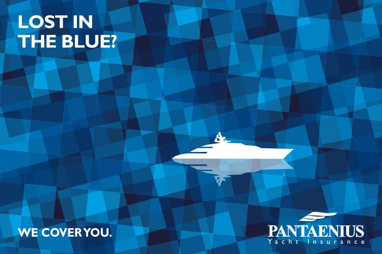 Pantaenius logo with text 'Lost in the Blue?'