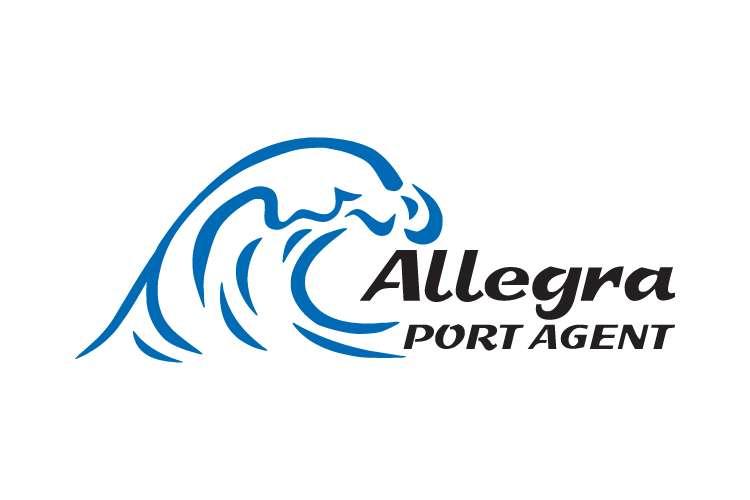 Allegra Port Agent logo on a white background