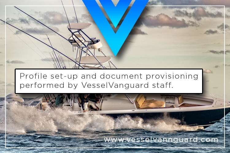Image of a boat and text: