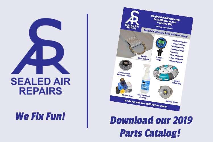 Sealed Air Repairs logo and text