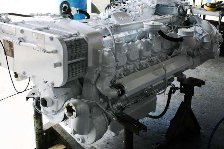 Image of a diesel engine