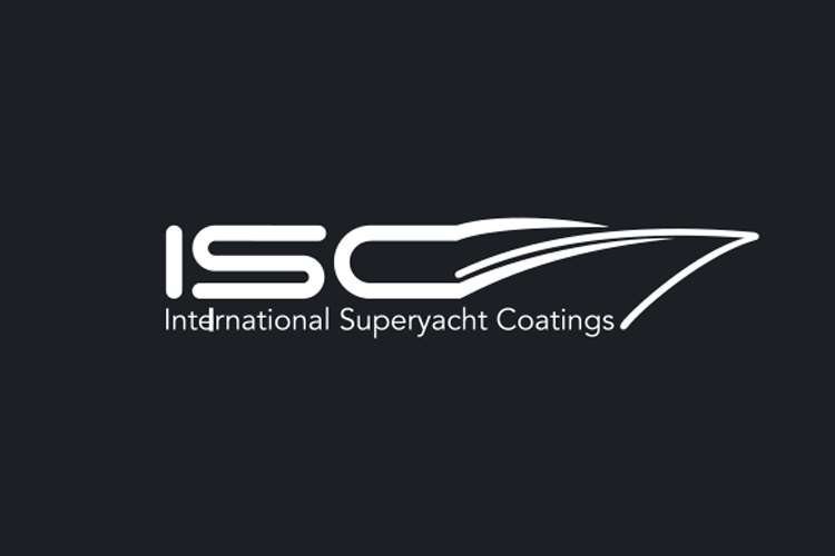 White International Superyacht Coatings logo on a black background.