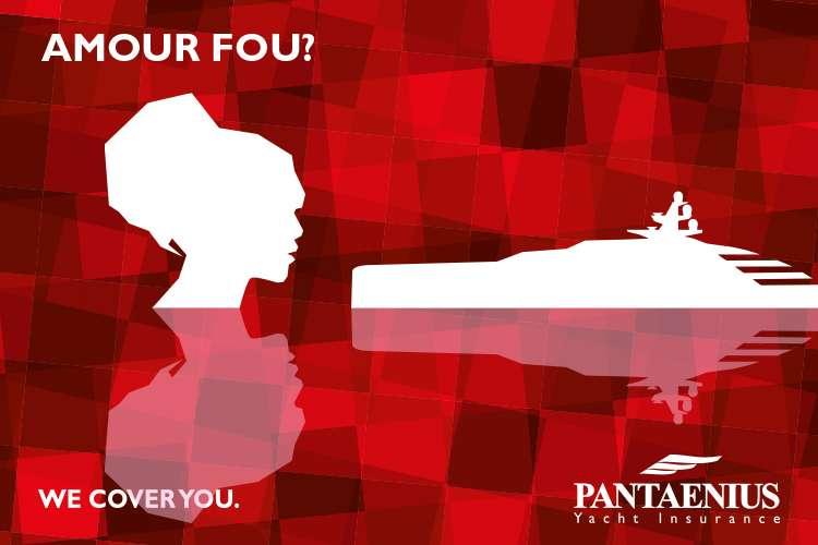 Pantaenius logo with text 'Amour fou!'