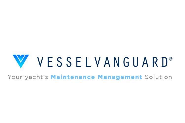 VesselVanguard logo and text: