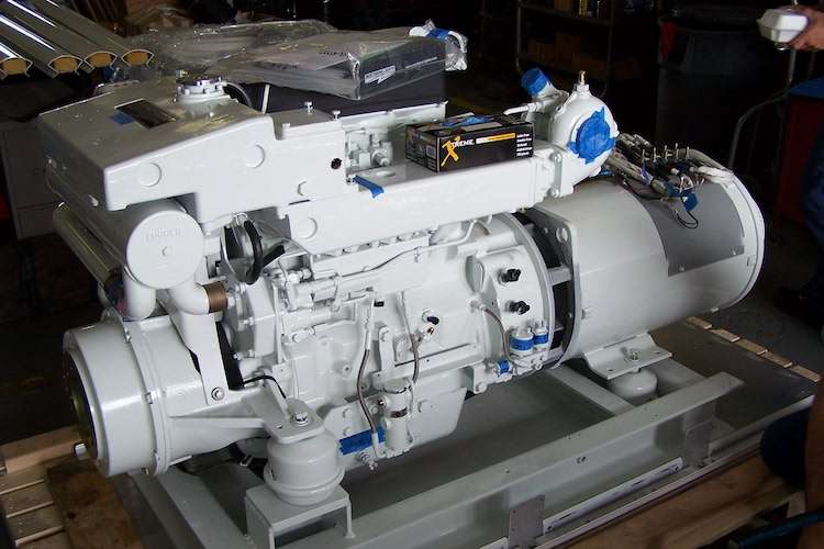 Image of a new engine