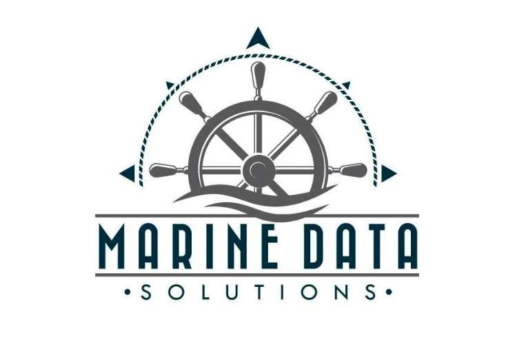 Marine Data Solutions logo on a white background.