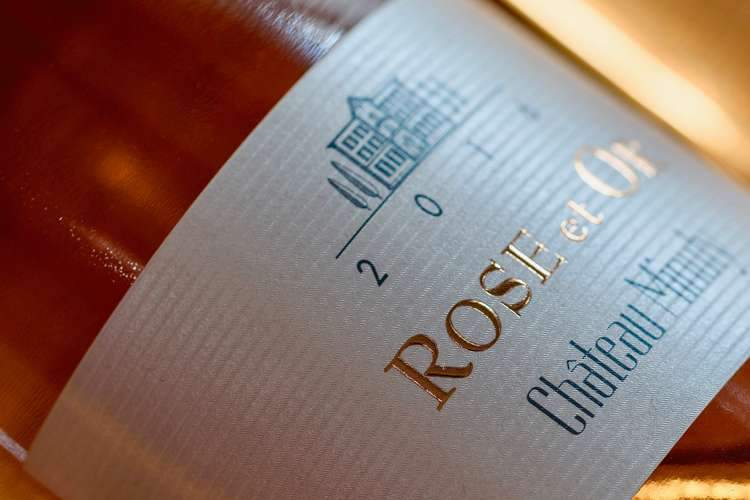 Bottle of Rose et Or Chateau Minuty