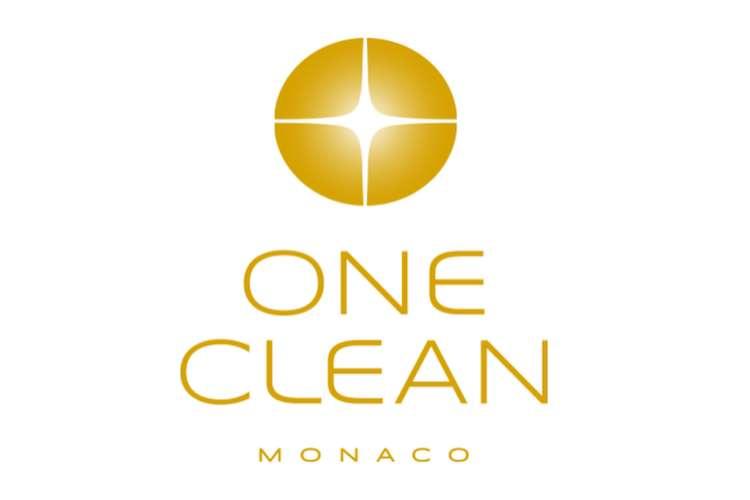 One Clean Monaco logo on a white background