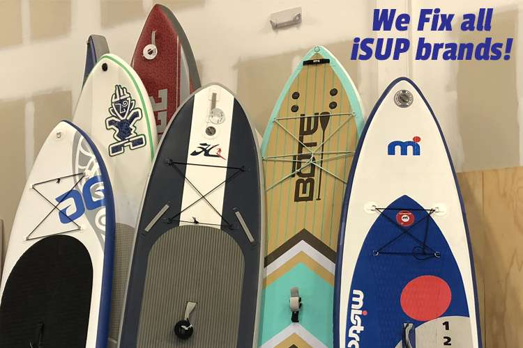 Image of SUP boards with text:
