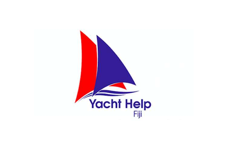 Yacht Help Fiji logo on a white background