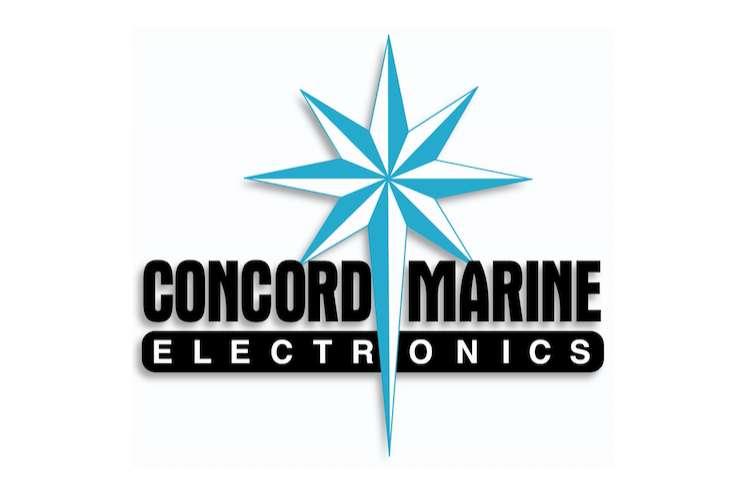 Concord Marine Electronics logo on a white background.