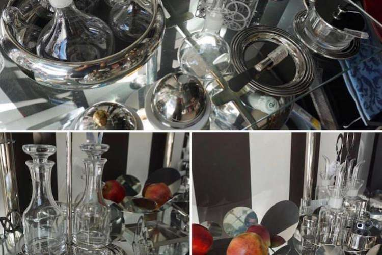 Glass and silverware from Ildeval.