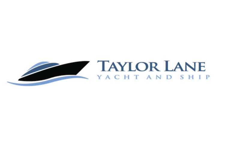 Taylor Lane Yacht and Ship logo on a white background