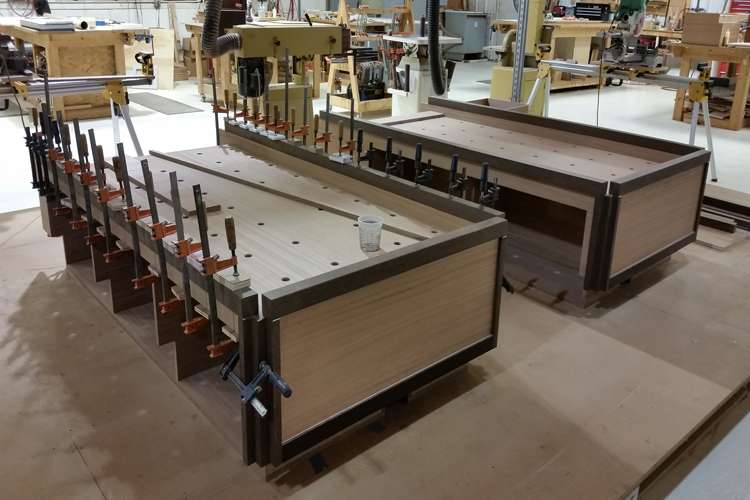 Thunderbolt Marine  wood workshop