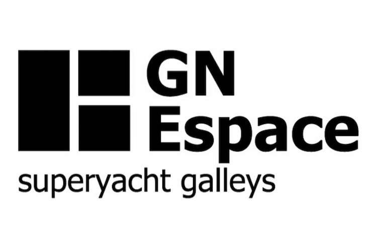GN Espace Superyacht galleys logo on a white background