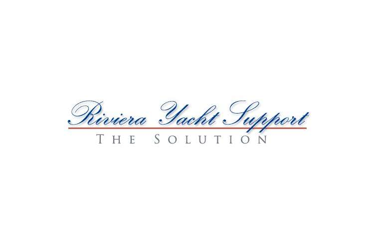 RIviera Yacht Support logo on a white background.