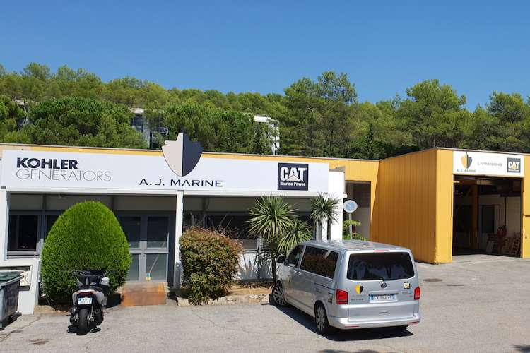 AJ Marine office building