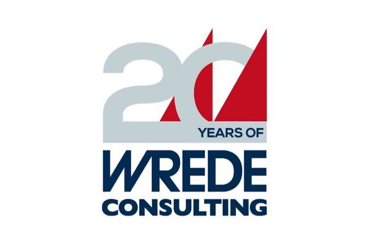 Wrede Consulting logo on a white background.