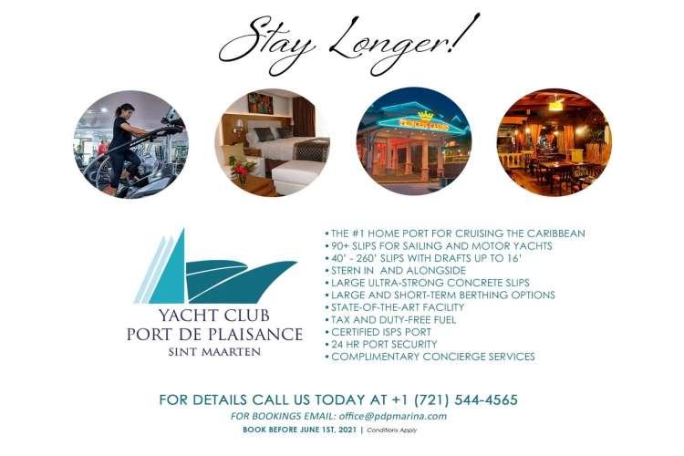 Stay longer! List of Yacht Club Port de Plaisance Services