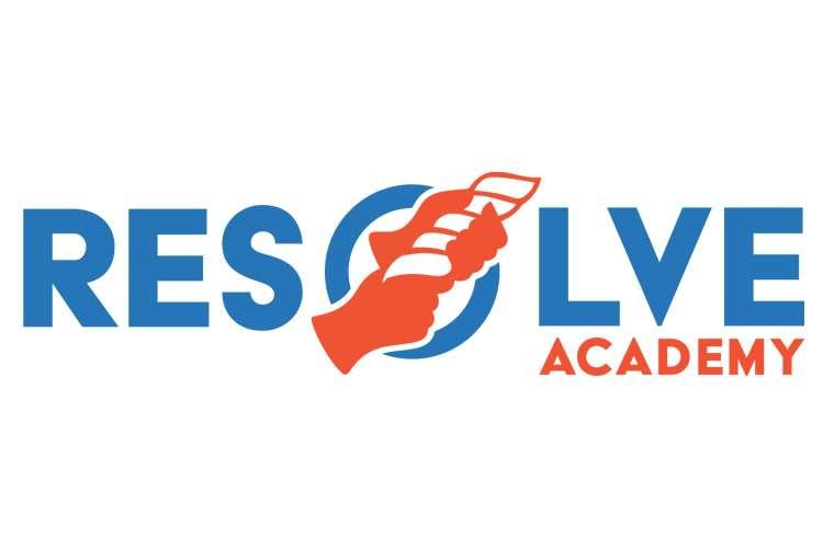Resolve Academy logo on a white background