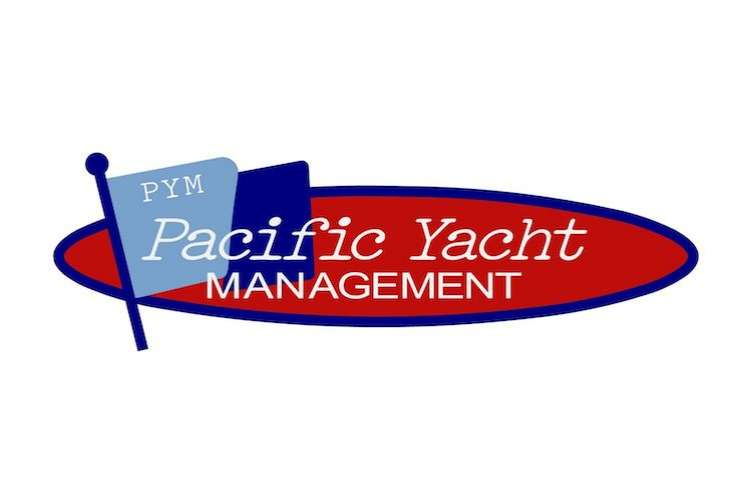 Pacific Yacht Management logo on a white background