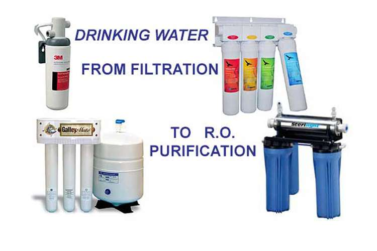 Water maker and water purification equipment