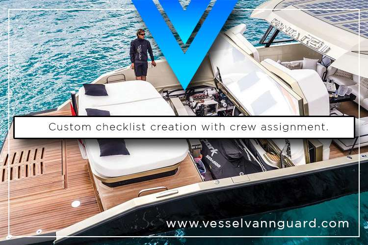 Image of a man standing on a yacht deck with text: