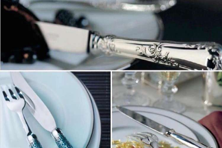 Luxurious table ware from Ildeval