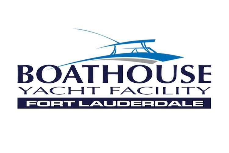 The Boathouse Yacht Facility logo on a white background