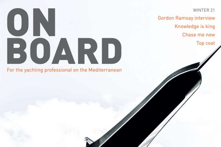 On Board magazine covers