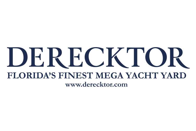 Derecktor logo with text: