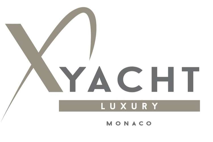 XYacht Luxury logo on a white background