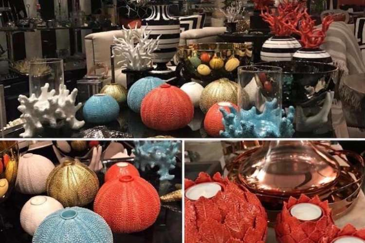 Design candle holders and vases from Ildeval.