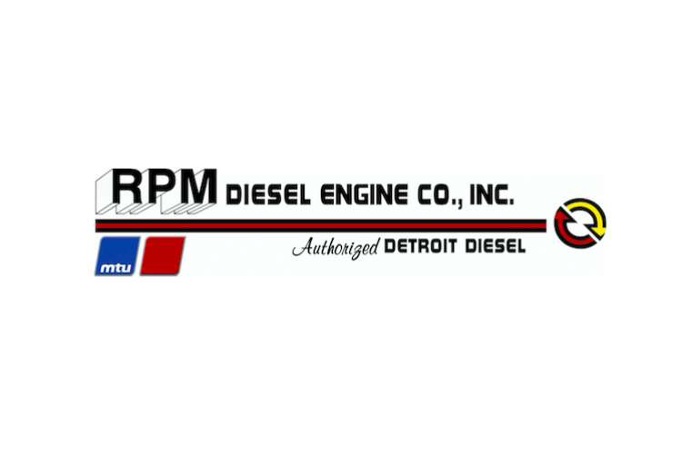 RPM Diesel logo on a white background