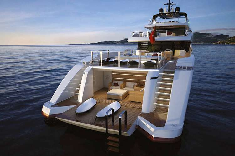 Bathing platform from Phoenix Marine Solutions
