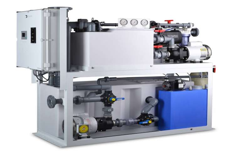 Sewage treatment system from Headhunter.