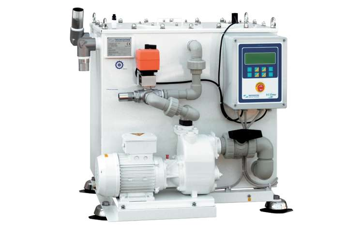 Image of a superyacht watermaker