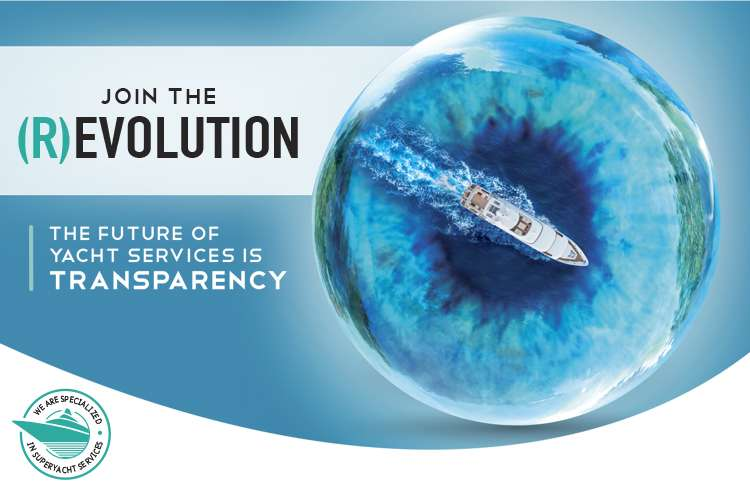 Join the (R)evolution - The future of Yacht Services is Transparency.