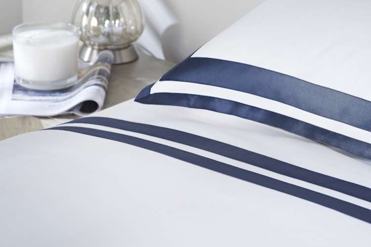 Bed linen from Heirlooms