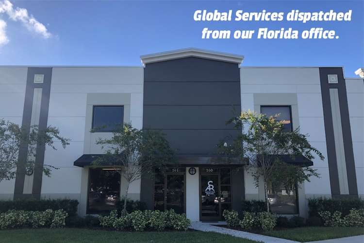 Sealed Air Repairs Florida office building from the front