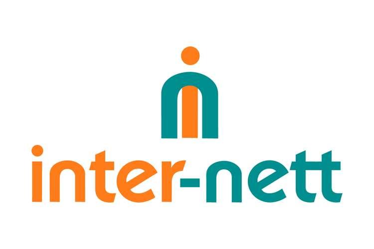 inter-nett logo on a white background