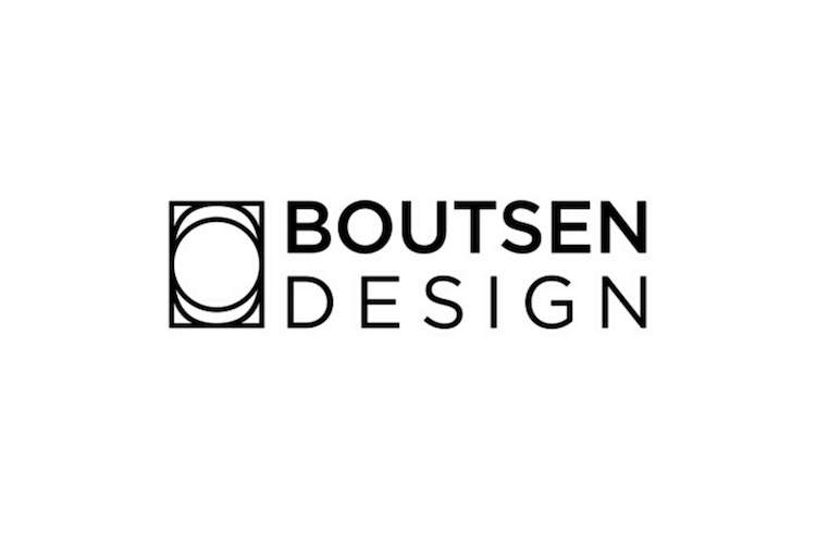 Boutsen Design logo on a white background