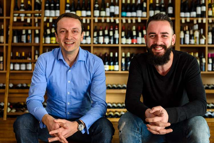The 1862 sommeliers Hervé and Julien